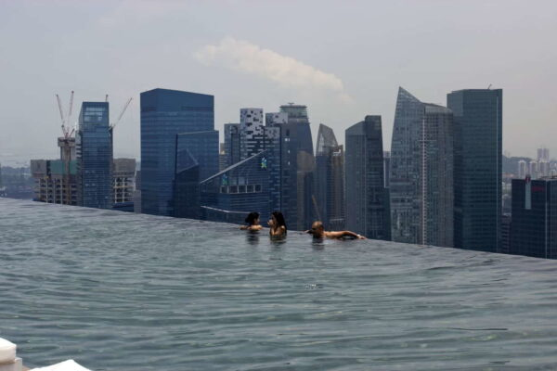 Гонконг - отель с бассейном на крыше