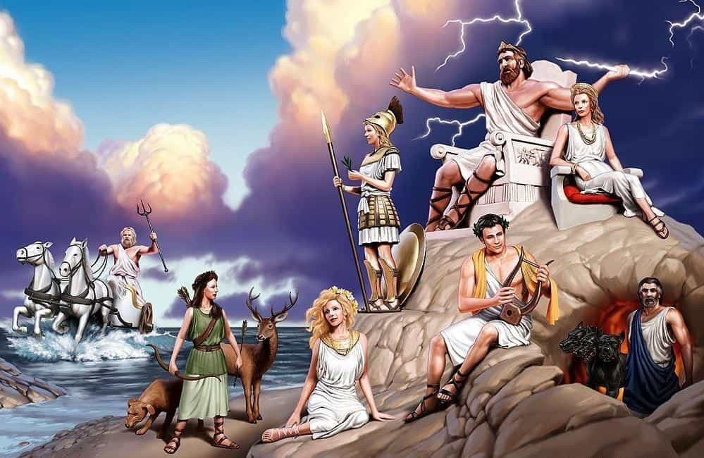 """Античные мифы Эллады и """"мифические"""" достопримечательности Греции"""