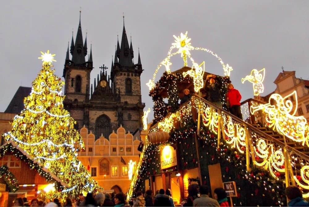 Поездка в Чехию на Рождество и Новый год