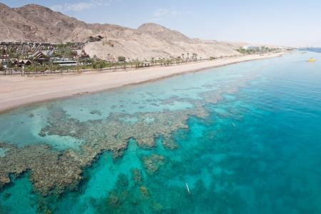 Мертвое море в Израиле и пляж