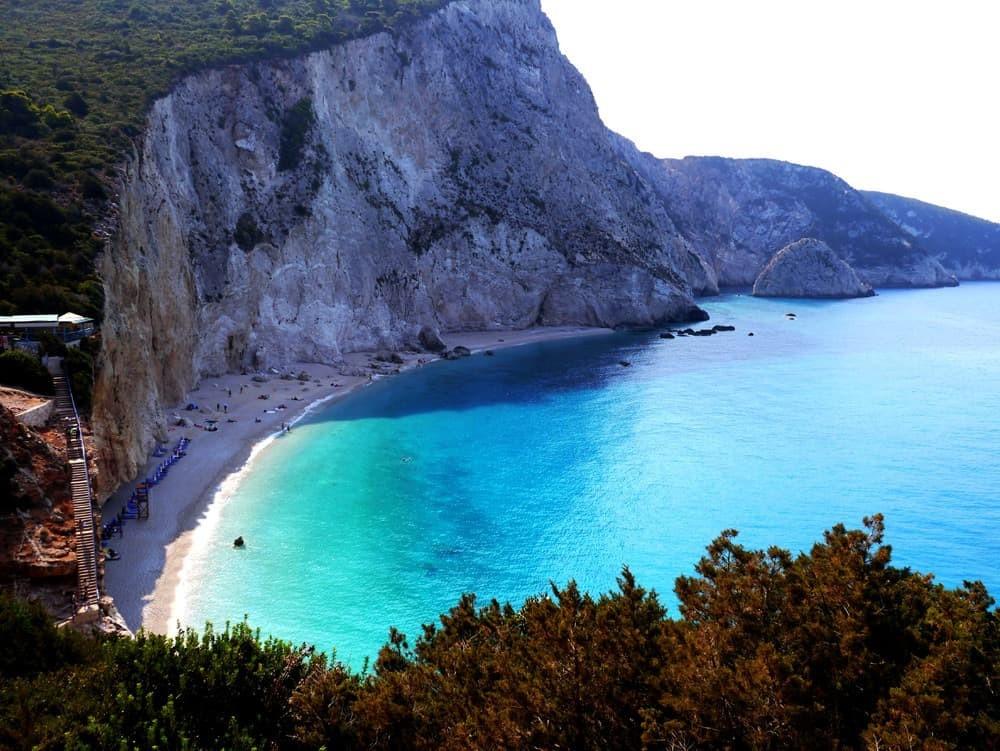 Пляжи на островах в Греции