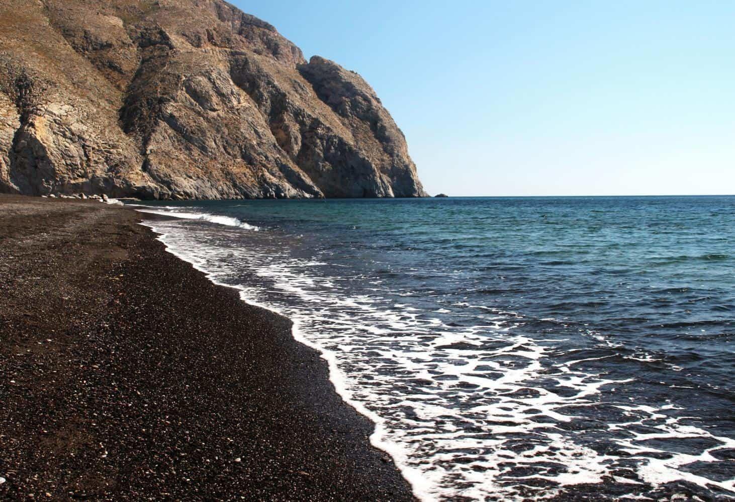 Лучшие пляжи Санторини в Греции