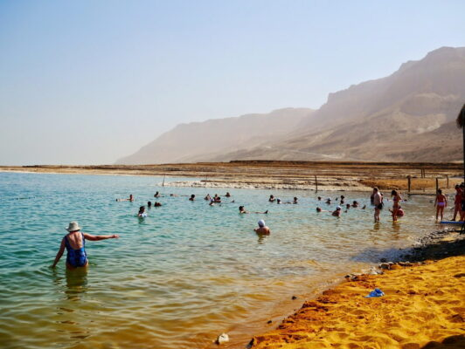 Что посмотреть на берегу Мертвого моря
