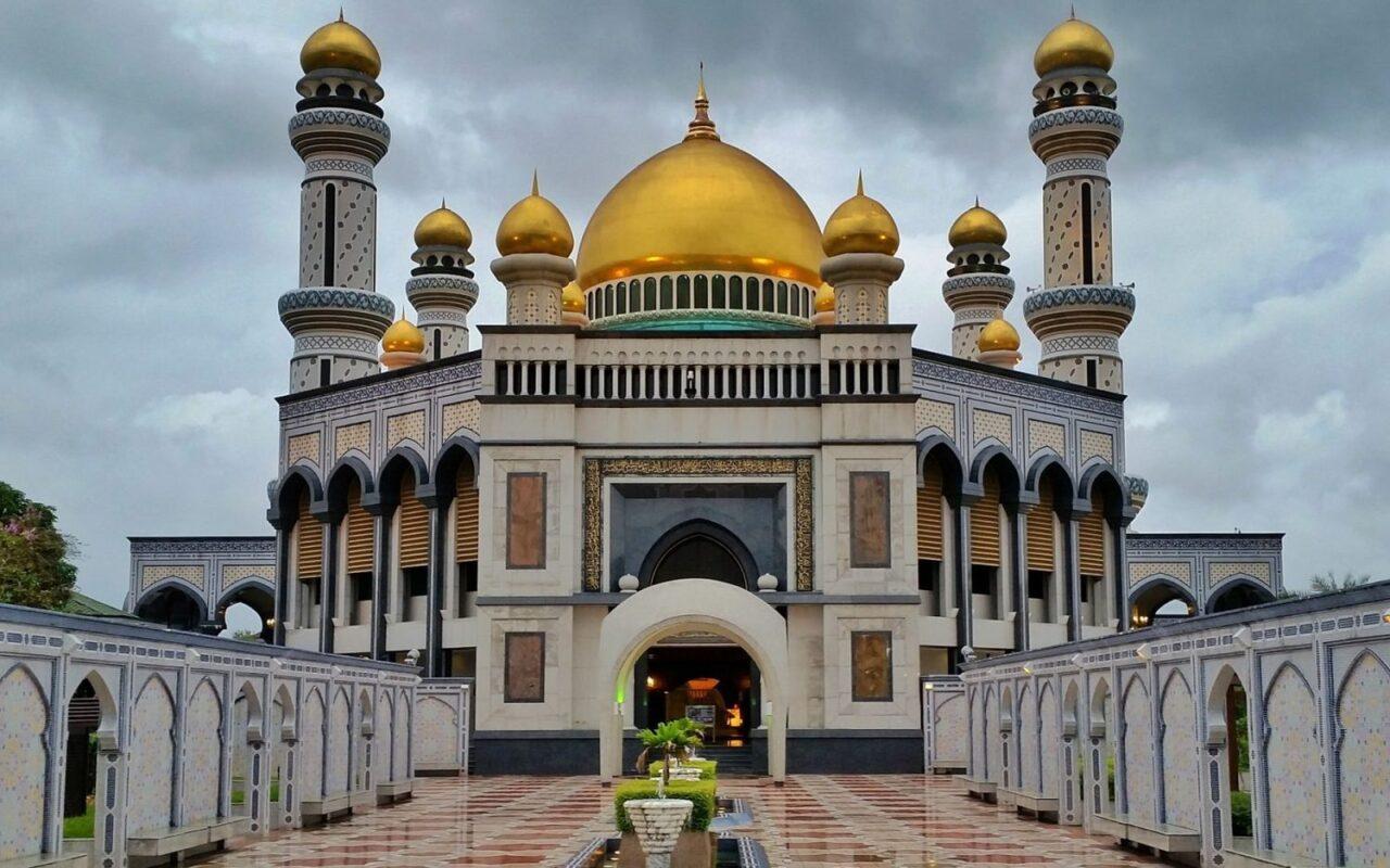 Достопримечательности Брунея - дворец султана