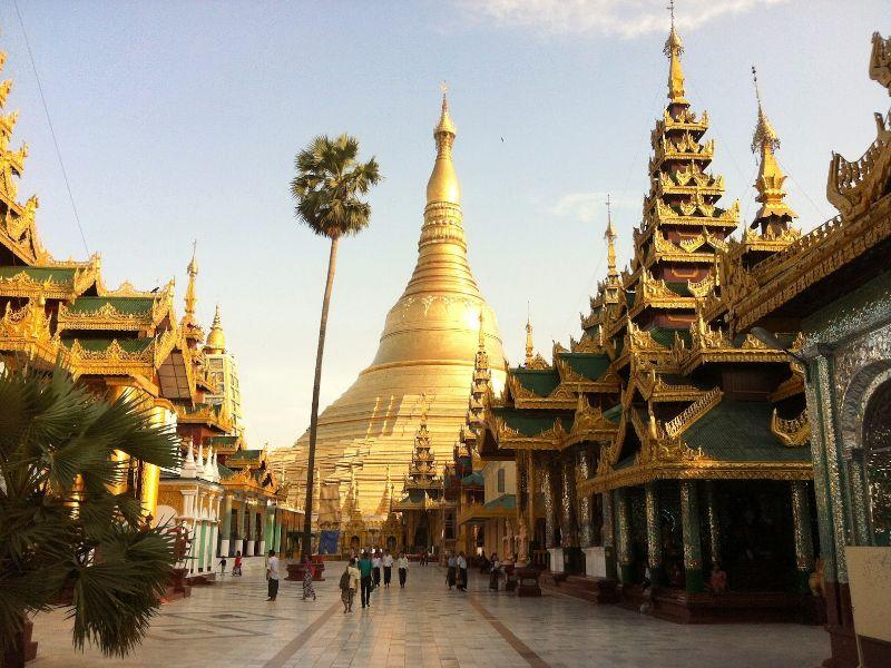 Достопримечательности Мяьнмы (Бирмы)