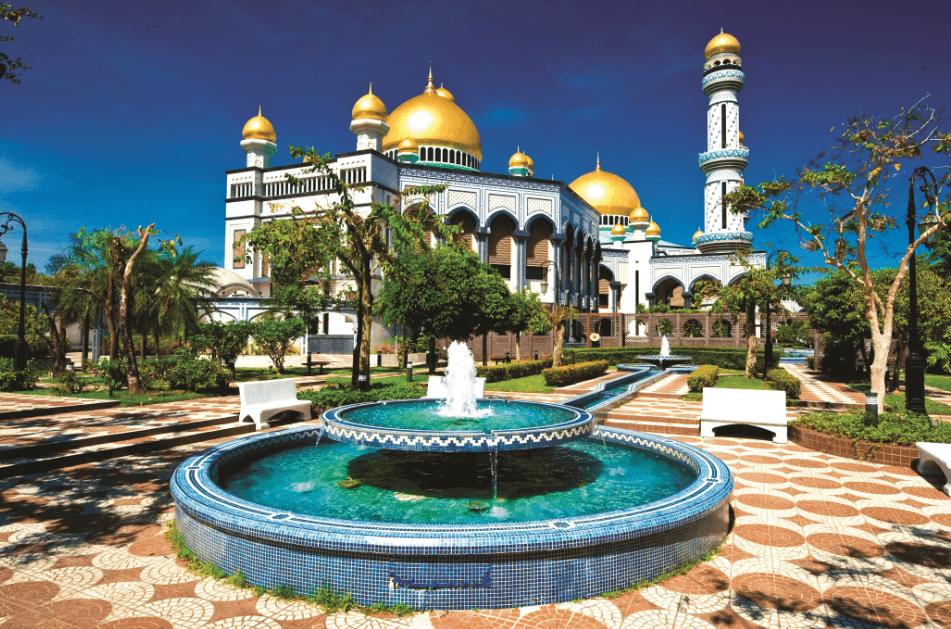 Дворец Брунея - резиденция султана