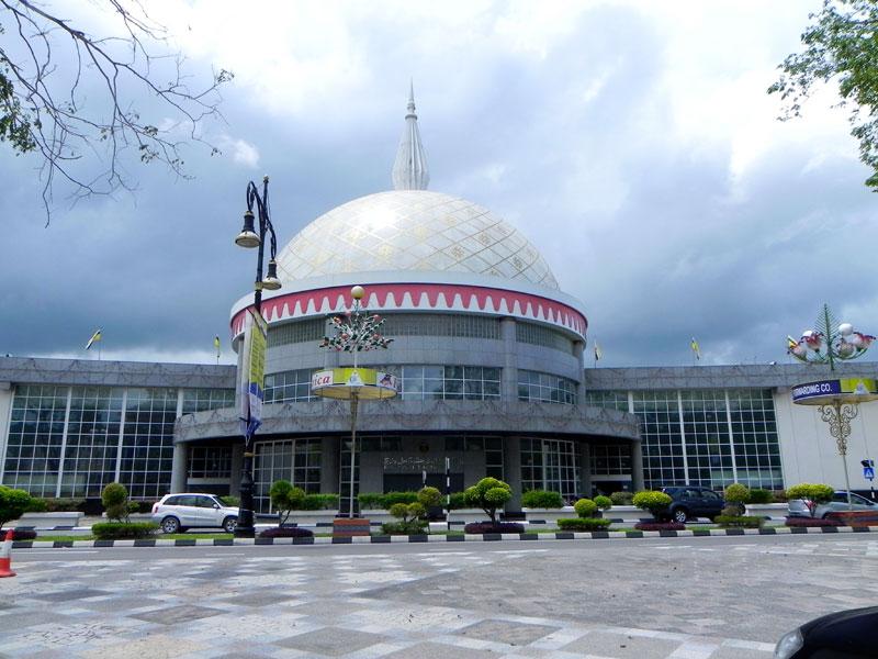 Дворец-музей королевских регалий в Брунее