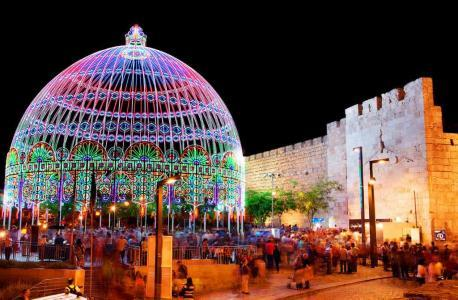 Фестиваль света-Иерусалим