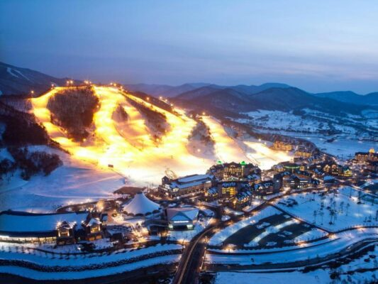 Горнолыжные курорты Южной Кореи