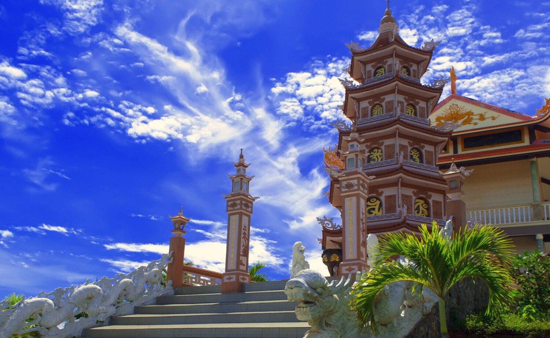 Город Фантьет во Вьетнаме достопримечательности