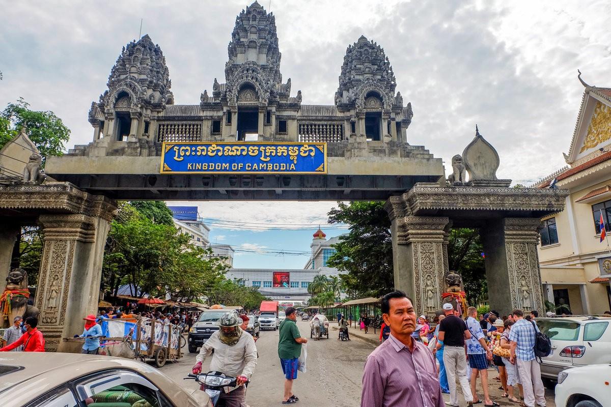 Граница Камбоджи с Таиландом