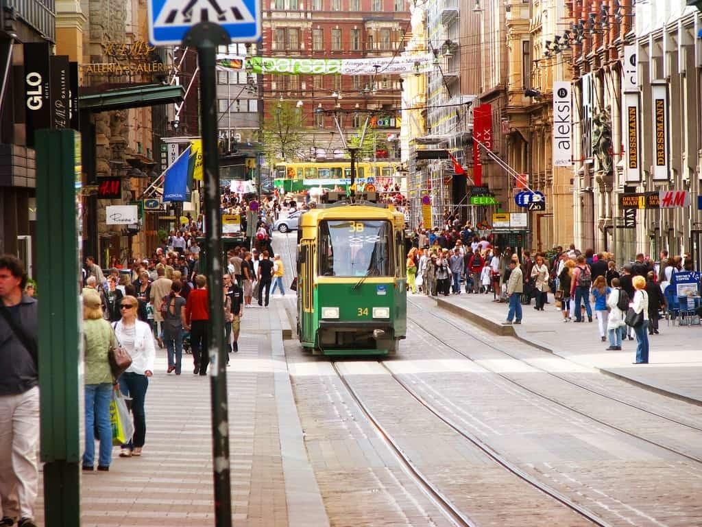 Трамвай в Финляндии