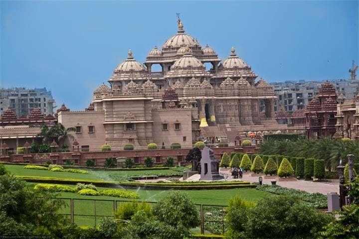 Путешествие в Индию - красивые храмы