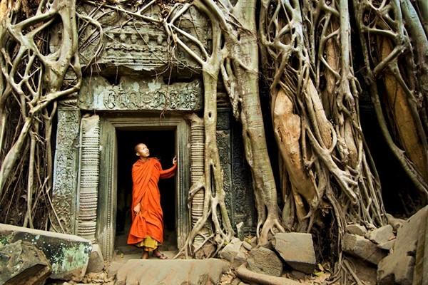 Храм Камбоджи Та-Пром