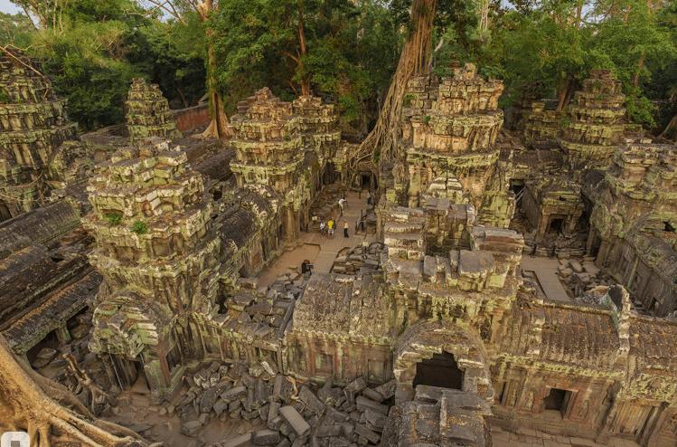 Храм Та-Пром, Ангкор, Камбоджа