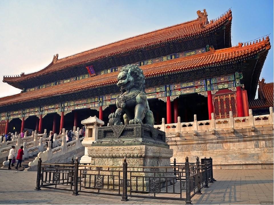 Императорские дворцы в Пекине
