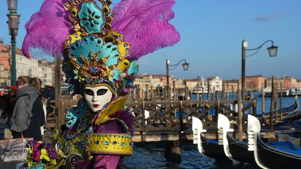 Карнавалы в Венеции Италия