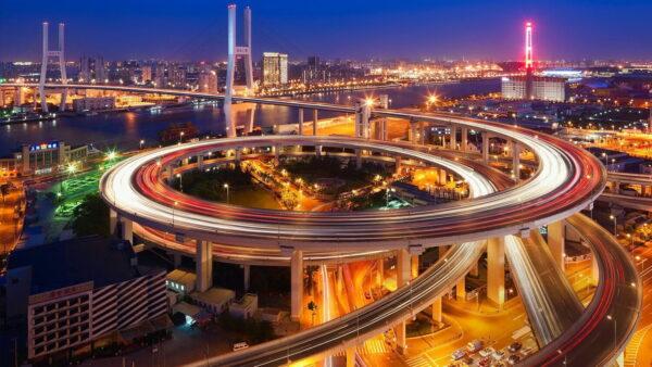 Китай - организация дорожного движения