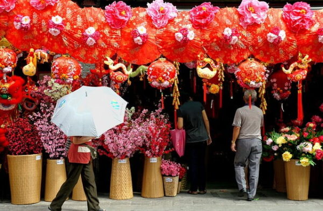 Китайский квартал в Малайзии