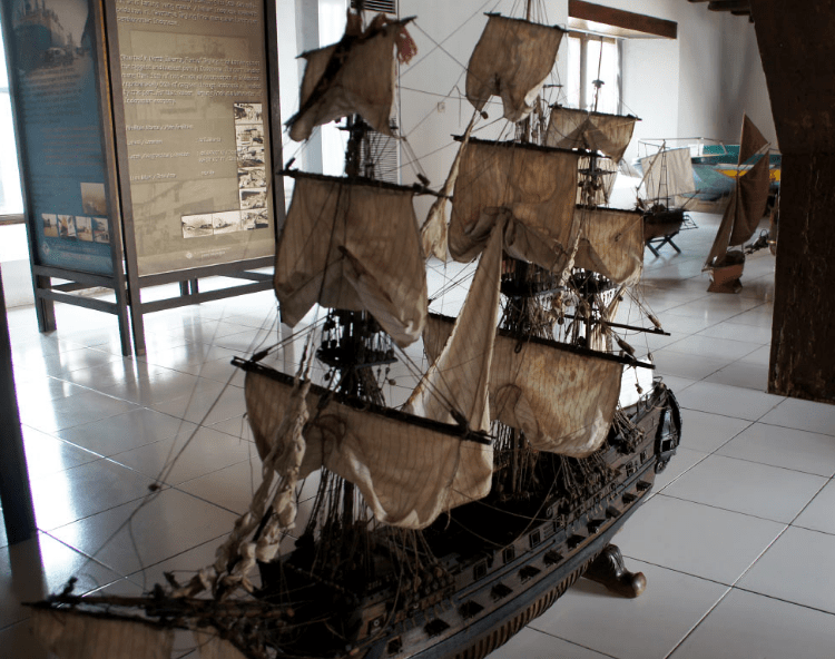 Морской музей в Джакарте