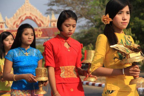 Мьянма - местные жители