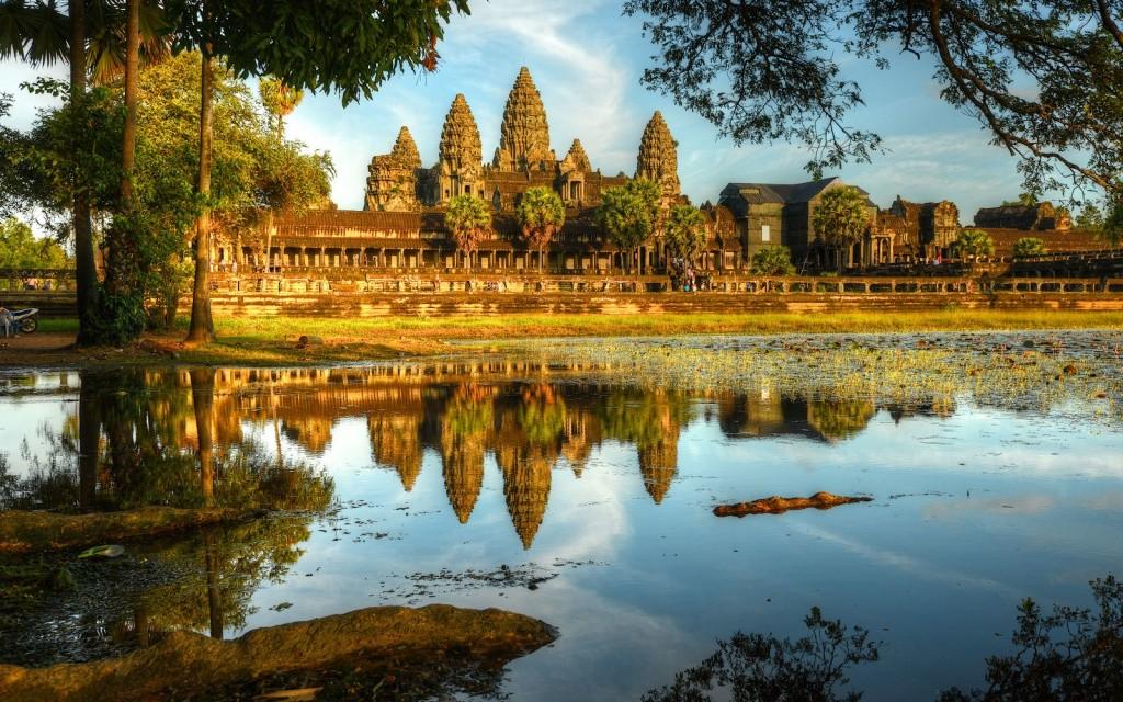Национальные парки Камбоджи и достопримечательности