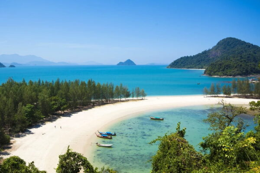 Отдых на пляжах в Таиланде