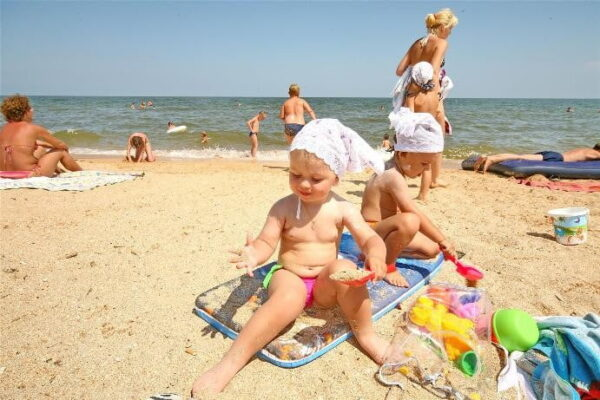 Отдых с детьми на Азовском море 2019