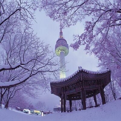 Отдых в Сеуле зимой – невероятная сказка в Южной Корее