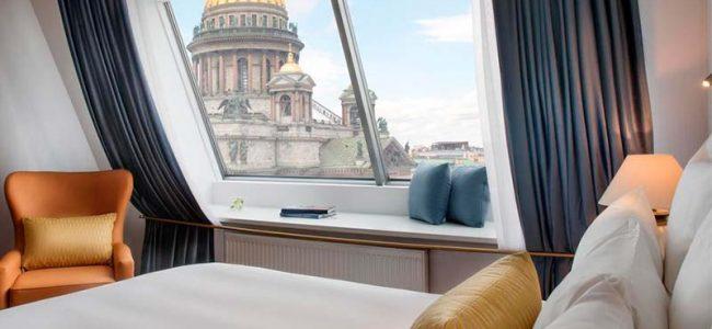 Отели Санкт-Петербурга с панорамным видом