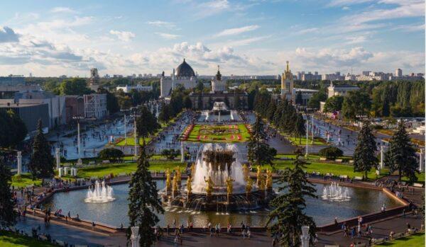 Парк ВДНХ в Москве