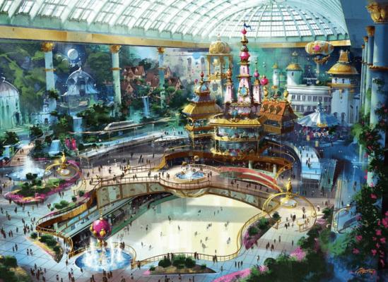 Парки развлечений Южной Кореи