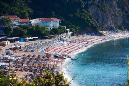 Пляж Blue Beach Черногория