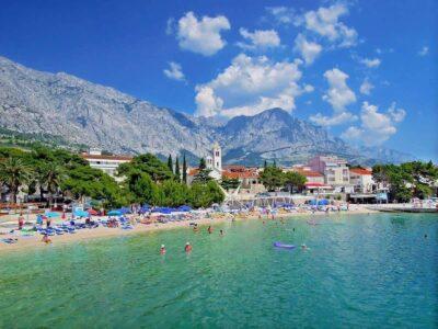 Пляж Николина в Хорватии