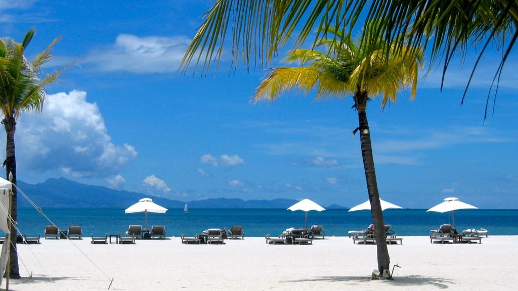 Пляжи острова Лангкави в Малайзии