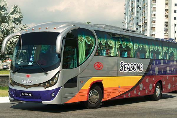 Путешествие по Таиланду на автобусе