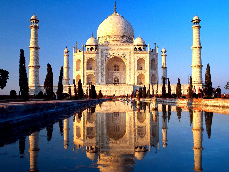Тадж-Махал в Индии достопримечательность