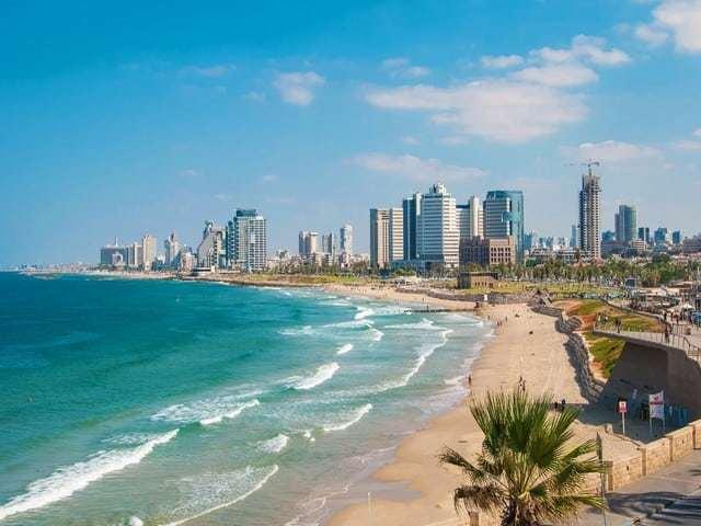 Тель-Авив,столица Израиля