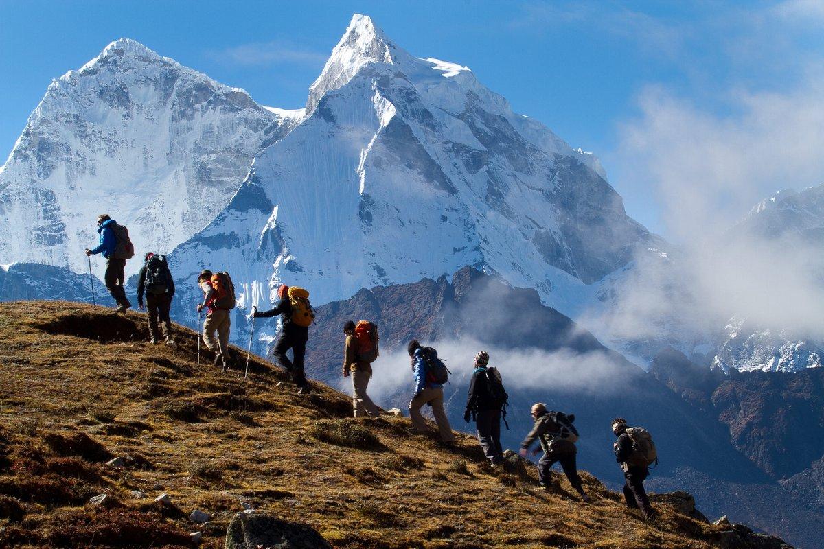 Треккинг в горах мира