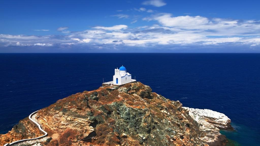 Острова Греции с обилием достопримечательностей