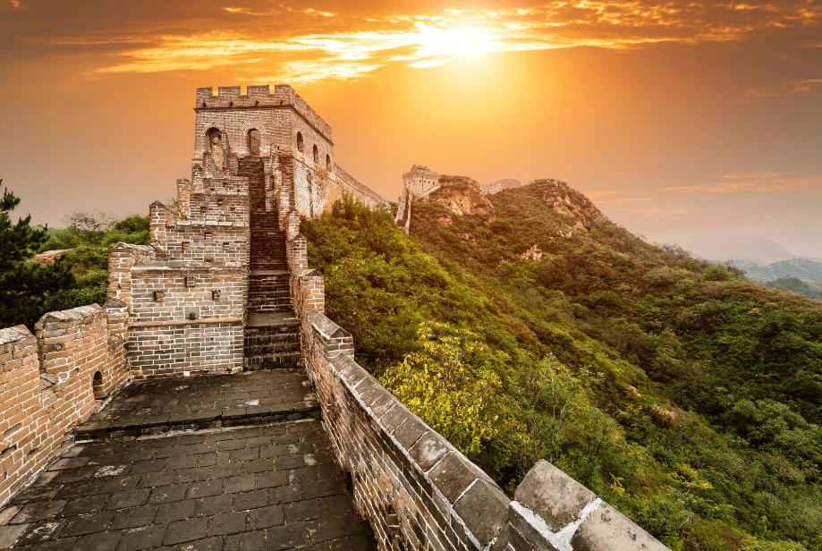 Великая Китайская стена в Пекине