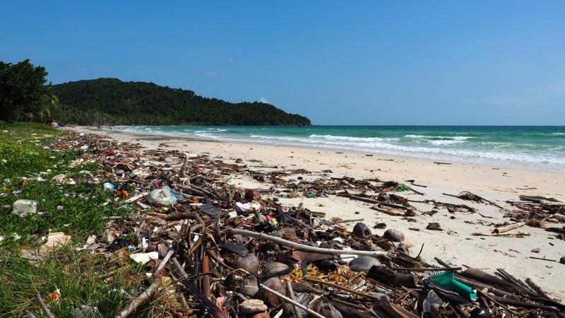 Вьетнам - грязные пляжи