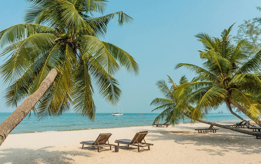Живописные пляжи Камбоджи