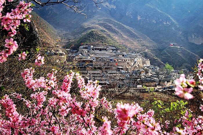 Затерянная деревня Cuandixia в Китае