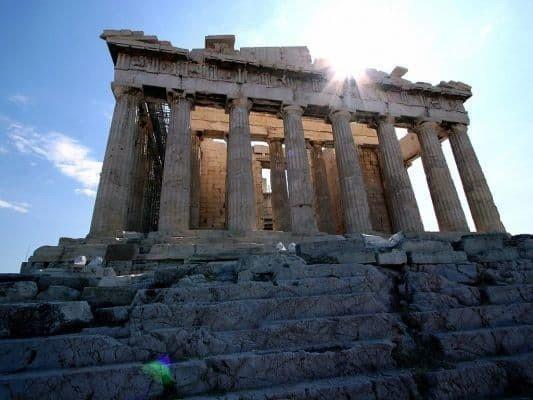 Афины столица европейской античности