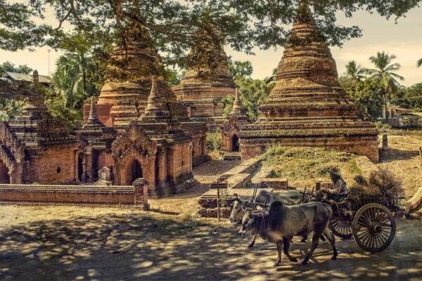 Фантастически красивое видео по Мьянме