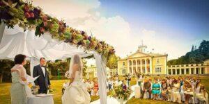 Красивая свадьба в Санторини