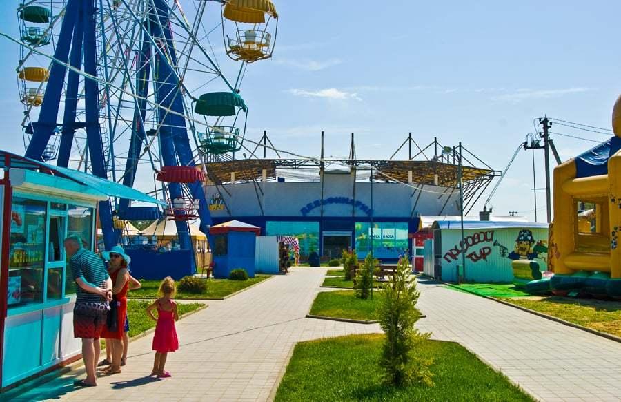 Развлечения для детей на Азовском море