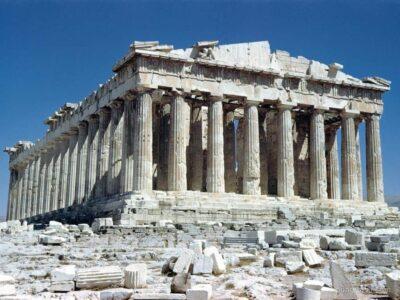 Храм Афины в Греции - мифическое место