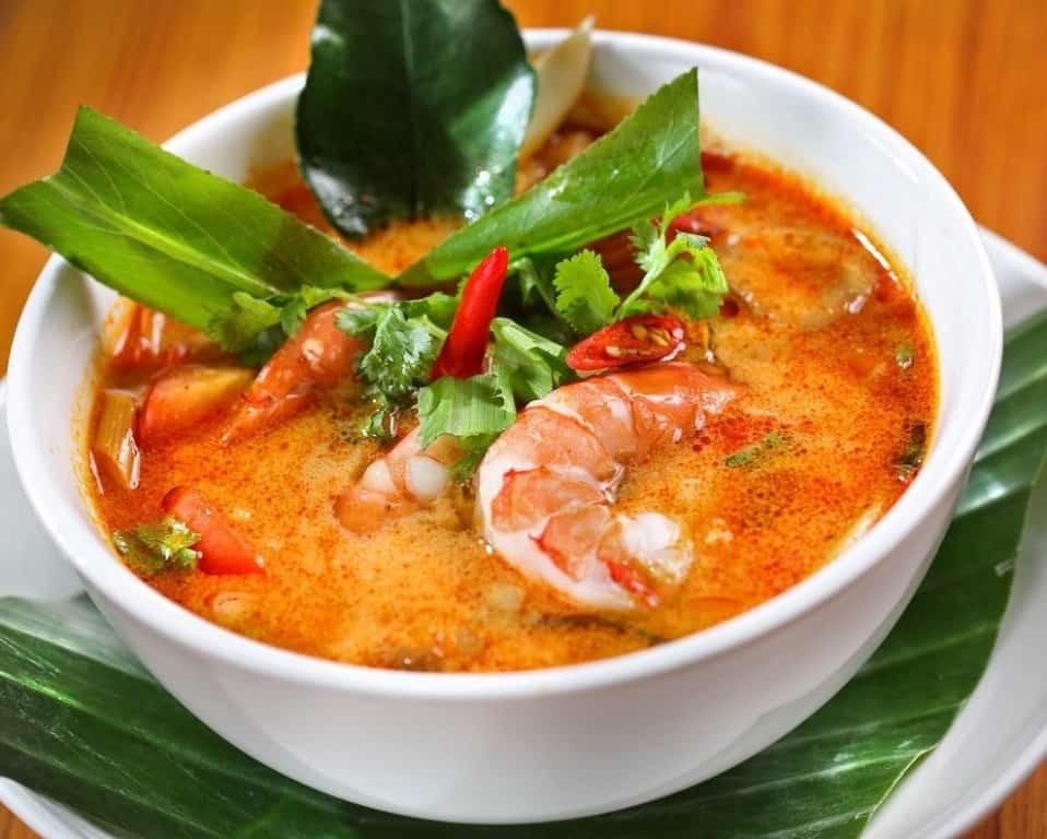 Тайский суп Том Ям - что попробовать в Тайланде?